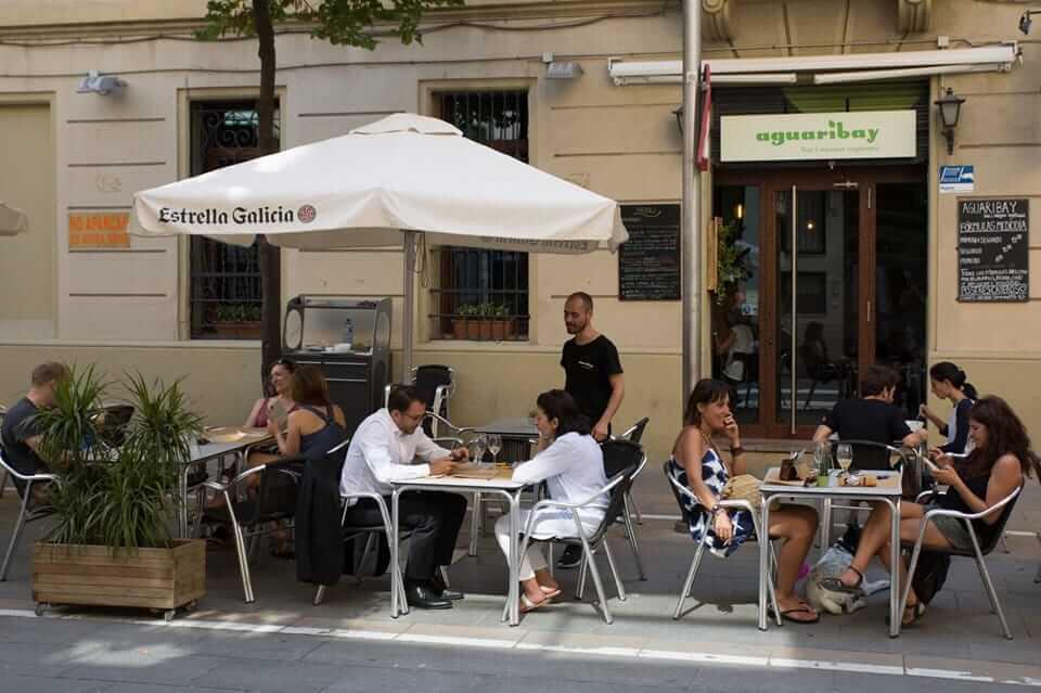 Vegetarian restaurants in Barcelona - Aguaribay, Barcelona