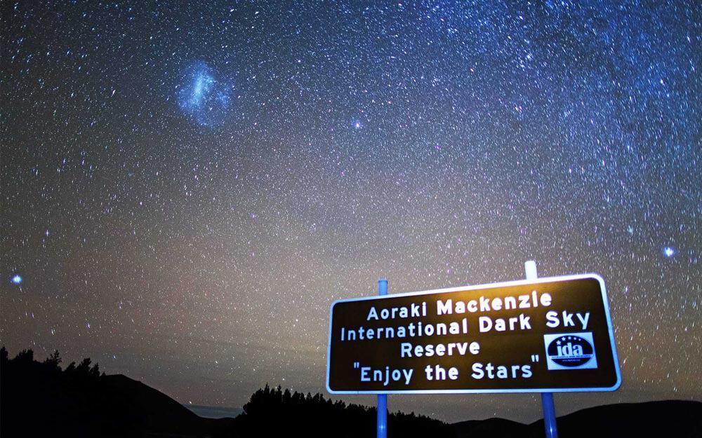 Aoraki Mackenzie Dark sky reserve, New Zealand