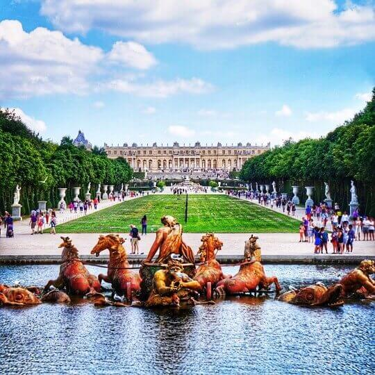 Apollo-Fountain - Chateau de Versailles