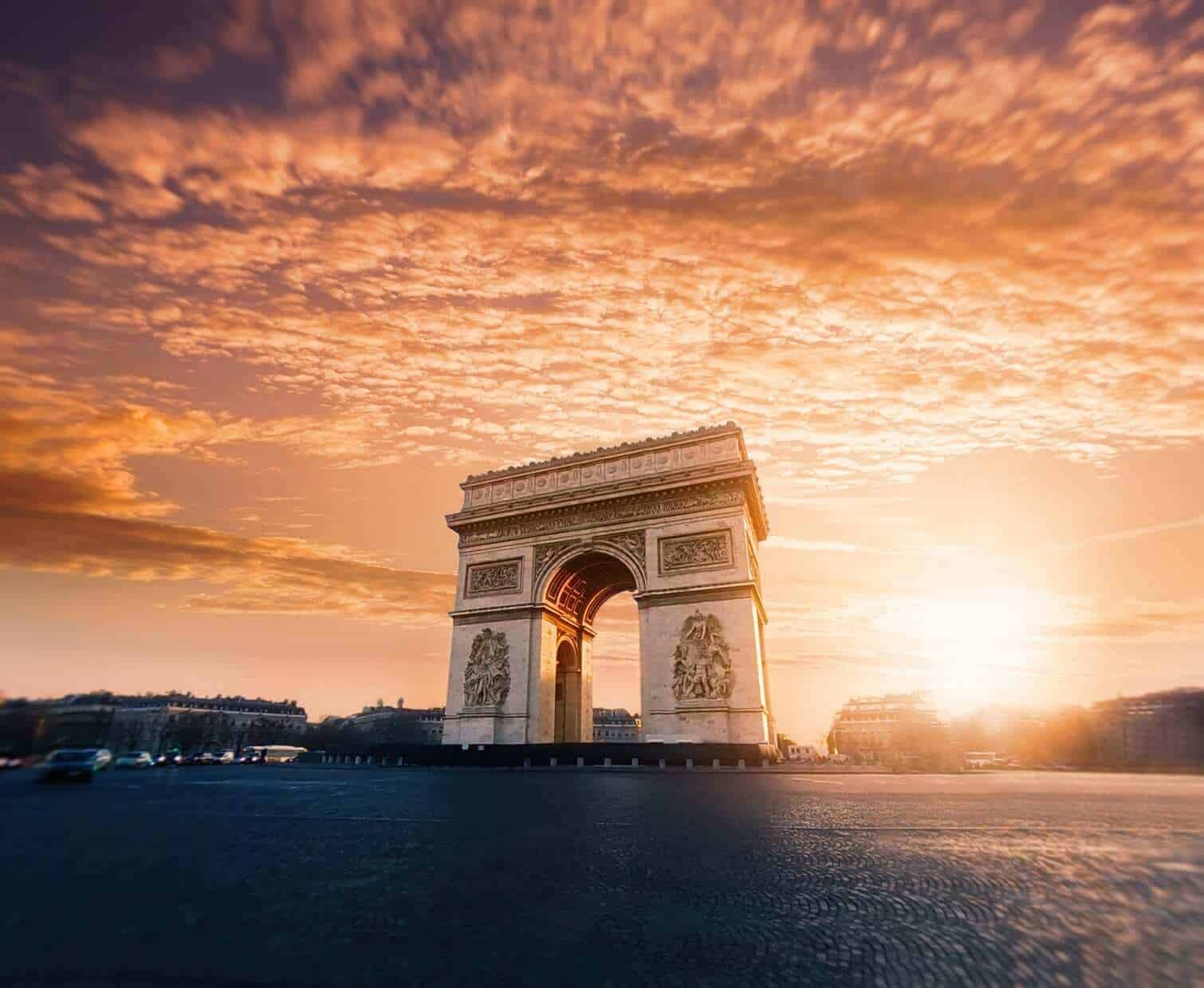 Arc-di-Triomphe - Paris