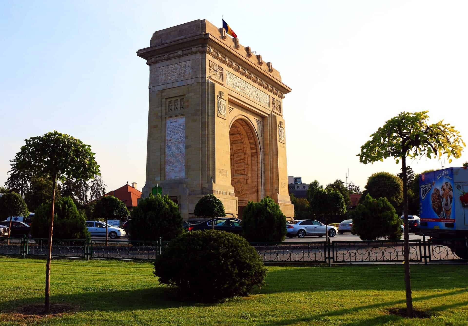 Arcul de Triumf, Bucharest