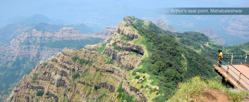 Arthur's seat point-Mahabaleshwar-India