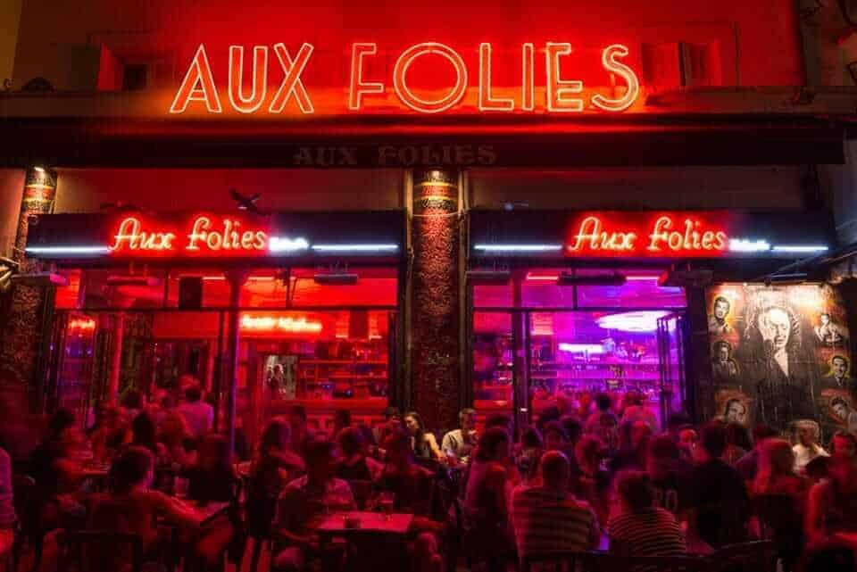 Aux Folies, Paris