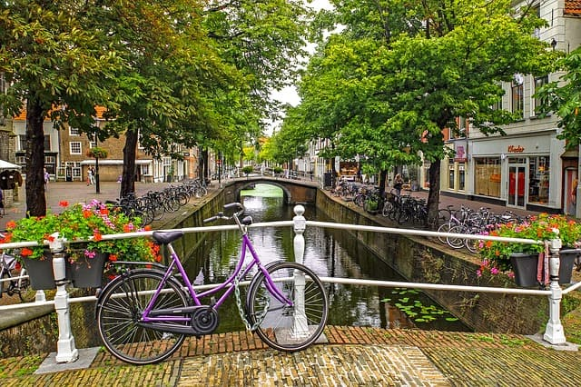 Bicycle-Amsterdam-Netherlands