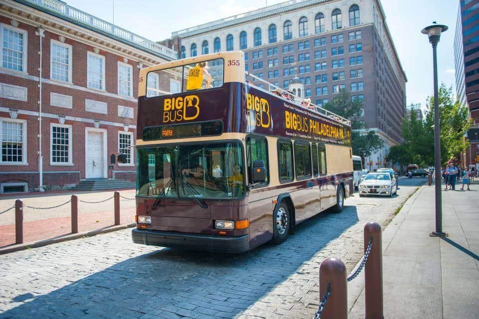 Big Bus Tour, Philadelphia