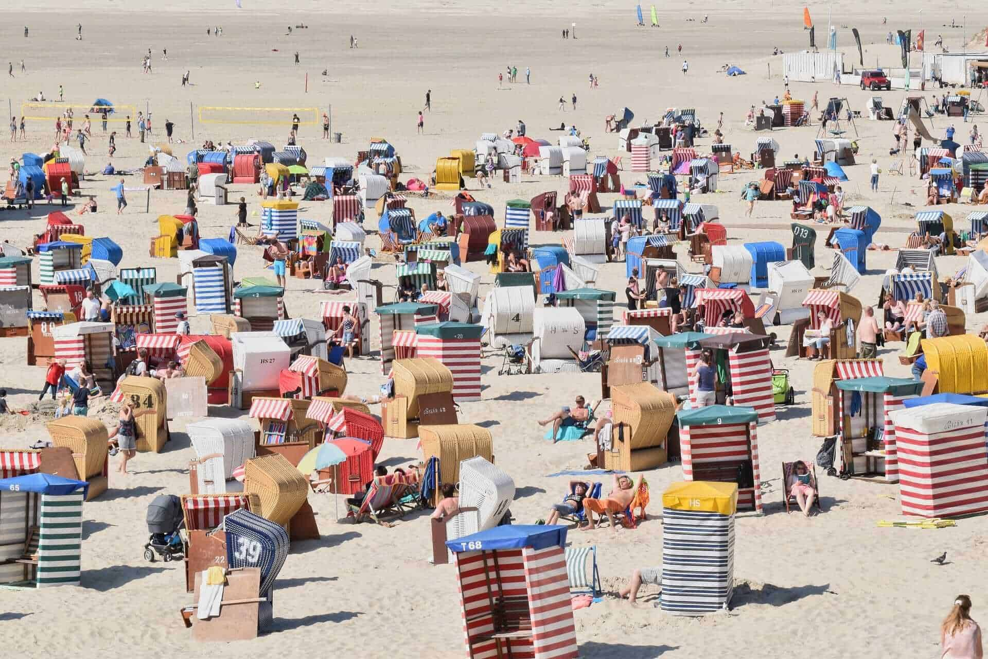 Borkum, Germany beach vacations
