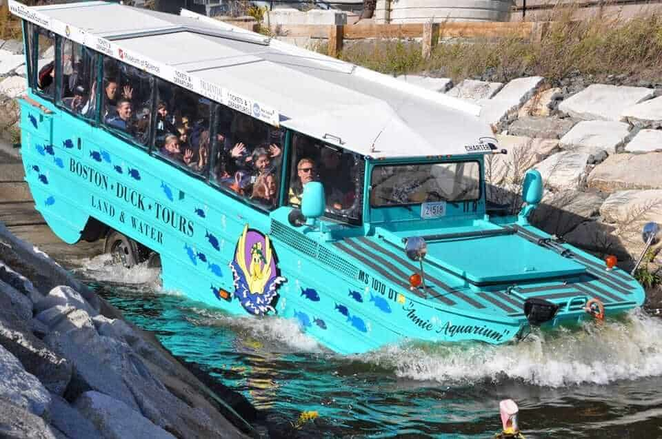 Boston Duck Boat Tour