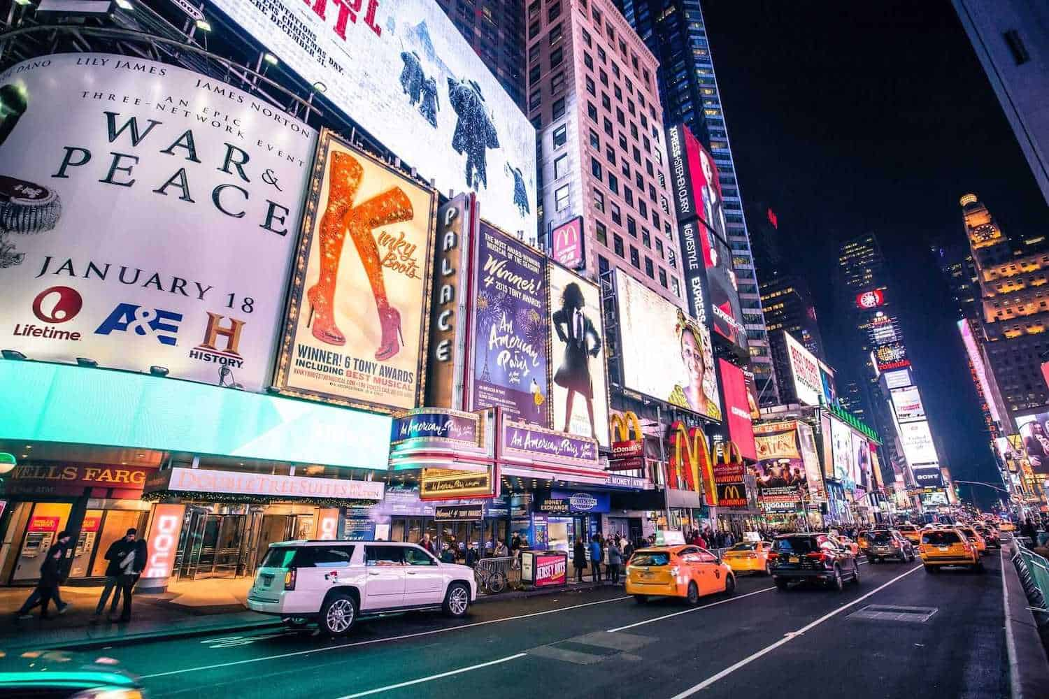 Broadway Theatres, New York