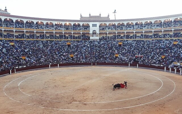 Bullfighting in Madrid