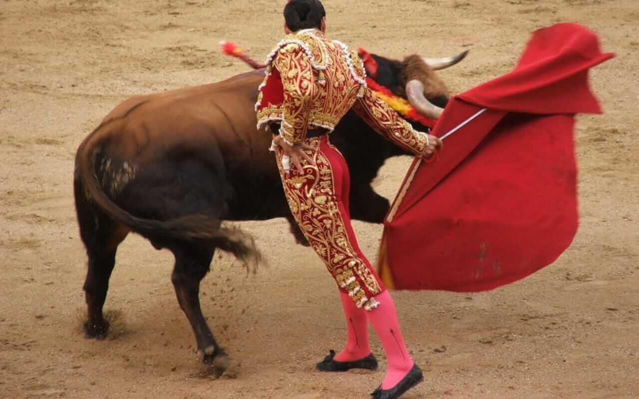 Bullfighting poster