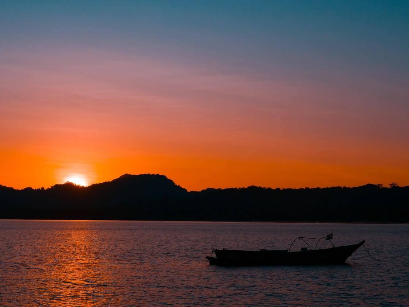 Campbell Bay, Andaman and Nicobar Islands, India