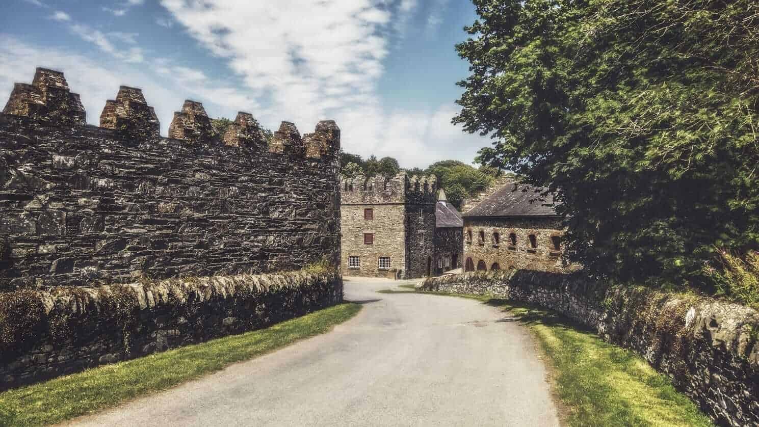 Game of Thrones Locations - Castle Ward, Ireland