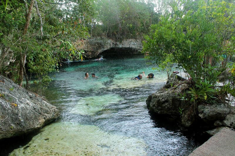 Cenote-azul-in-Cozumel-Mexico-Talk-Travel