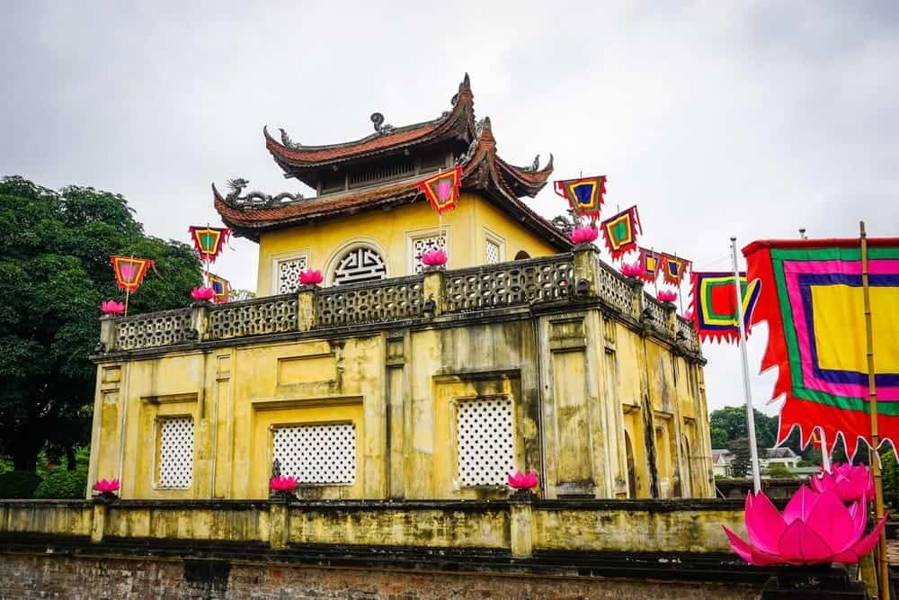 Imperial Citadel of Thang-Long,Hanoi, Vietnam