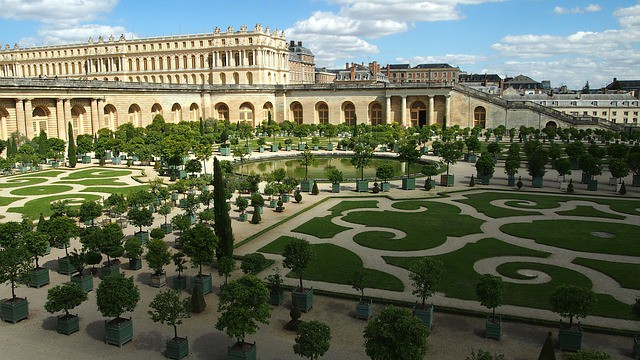 Chateau de Versailles and the Orange Garden