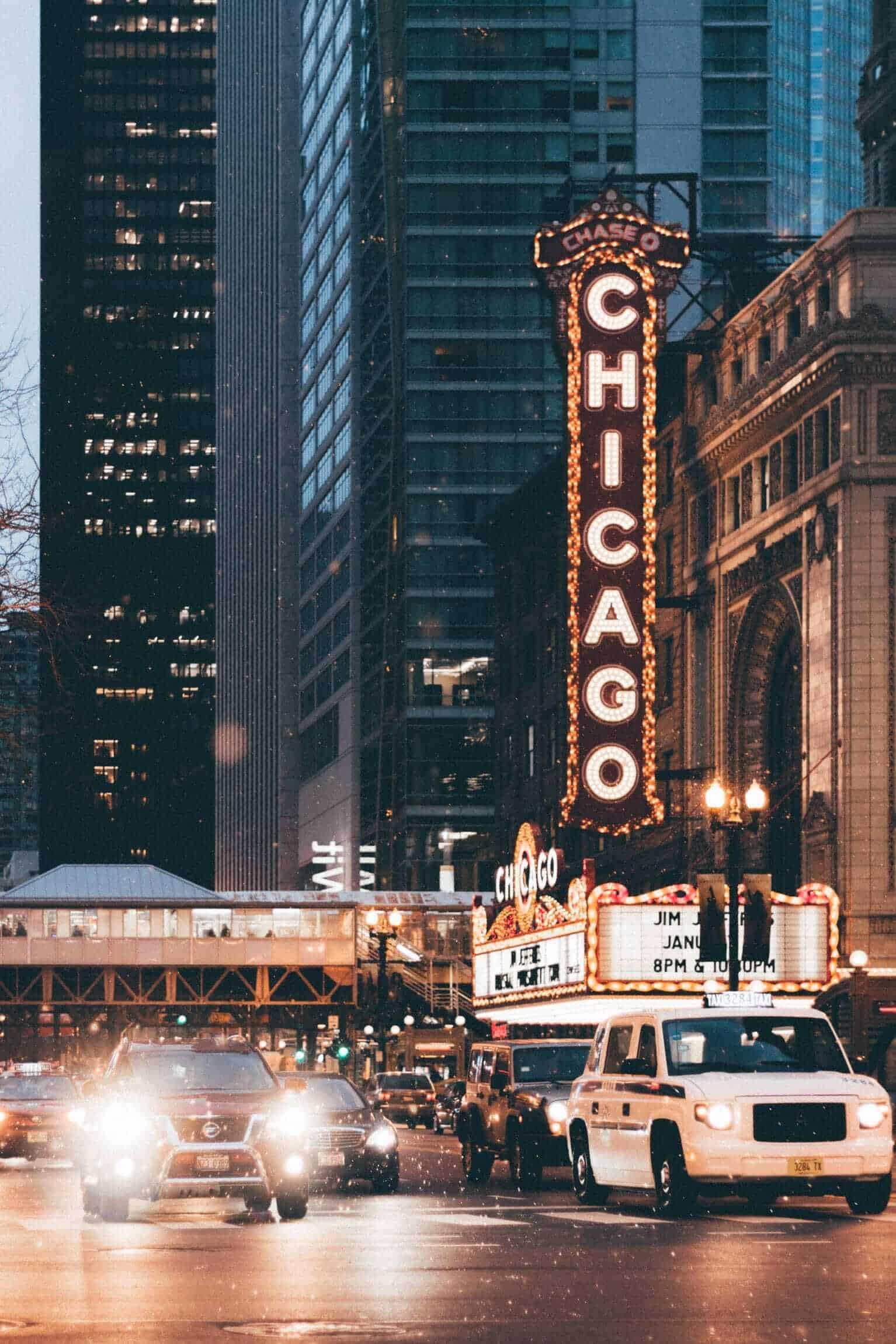 Chicago Theatre District