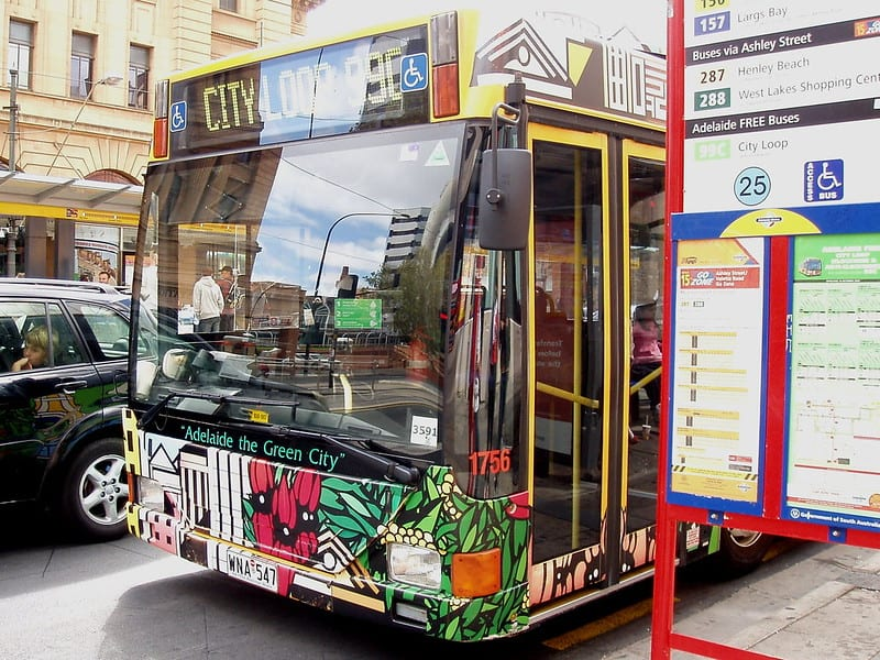 City Loop Bus, Adelaide, Australia