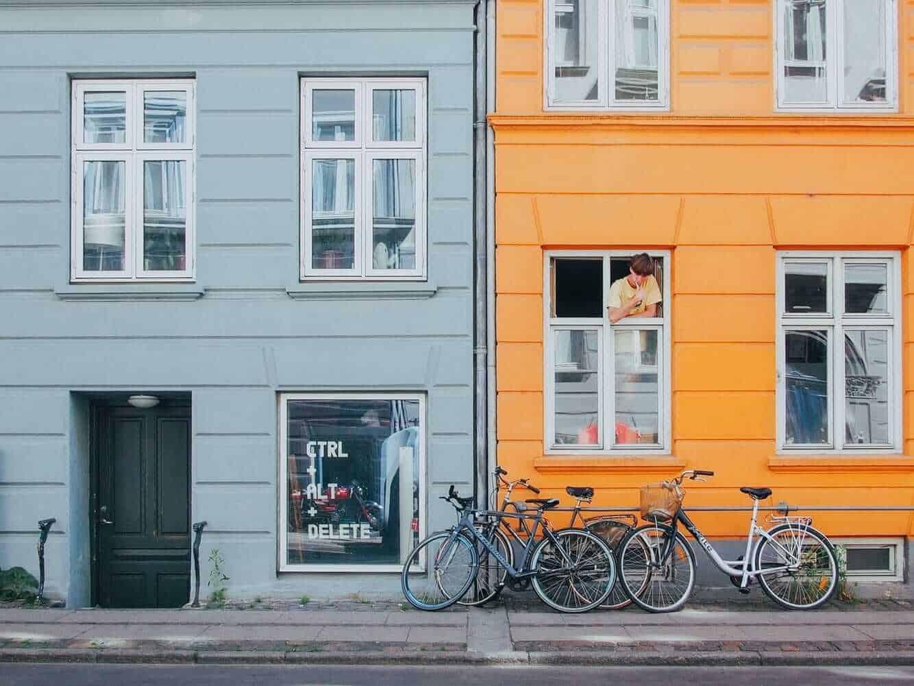 Copenhagen and Bikes