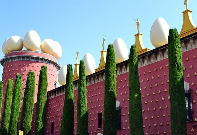 Dali's museum at Figueres