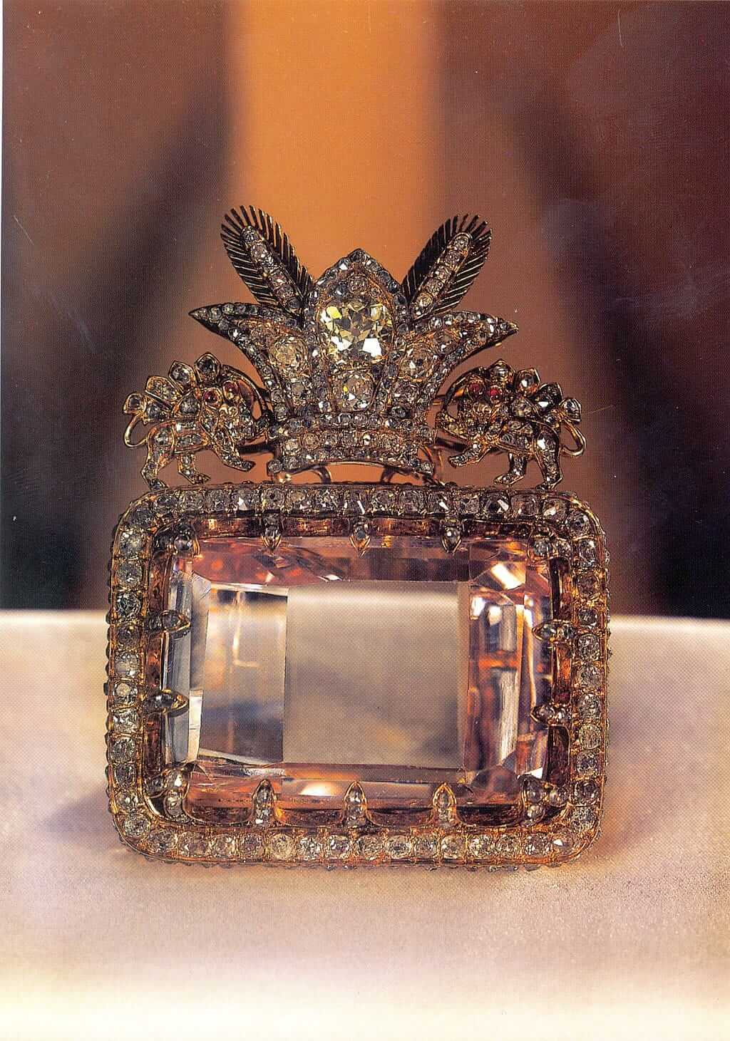 Daria-e-Noor Diamond - Treasury of National Jewels, Tehran, Iran