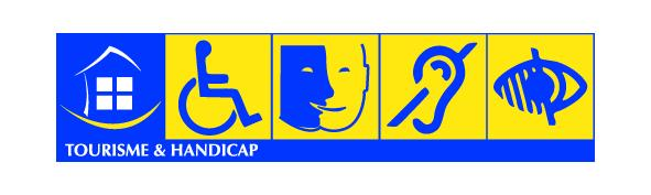 Pictogram for disabled people in France.