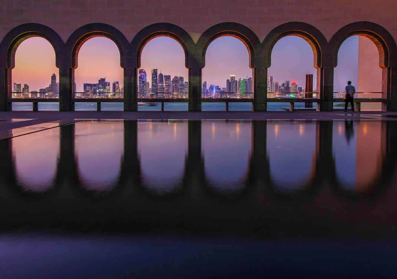 Doha - View from the Museum of Islamic Art