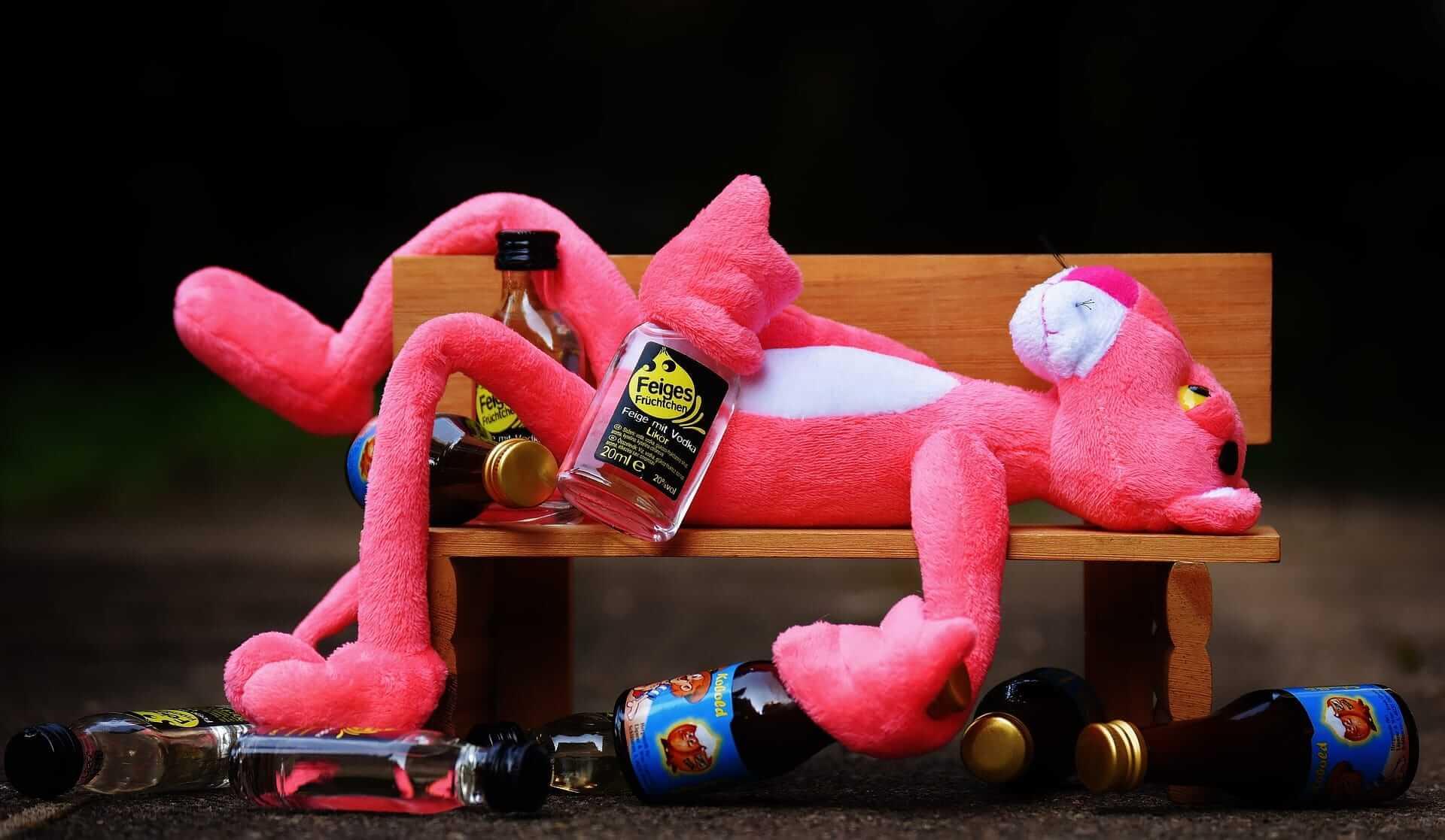 Drunk man- Pink Panther
