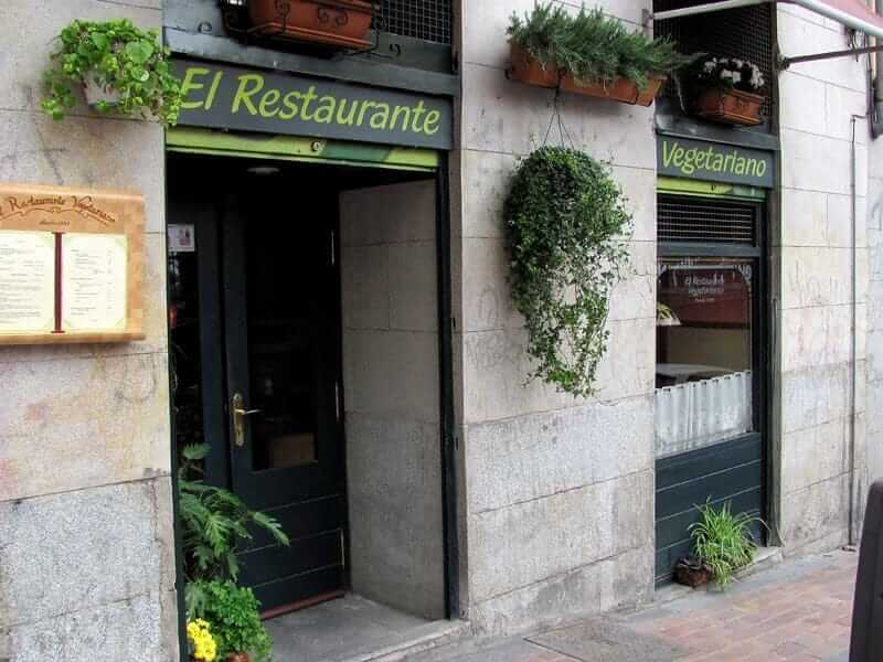 Vegetarian restaurants in Madrid - El restaurante Vegetariano, Madrid
