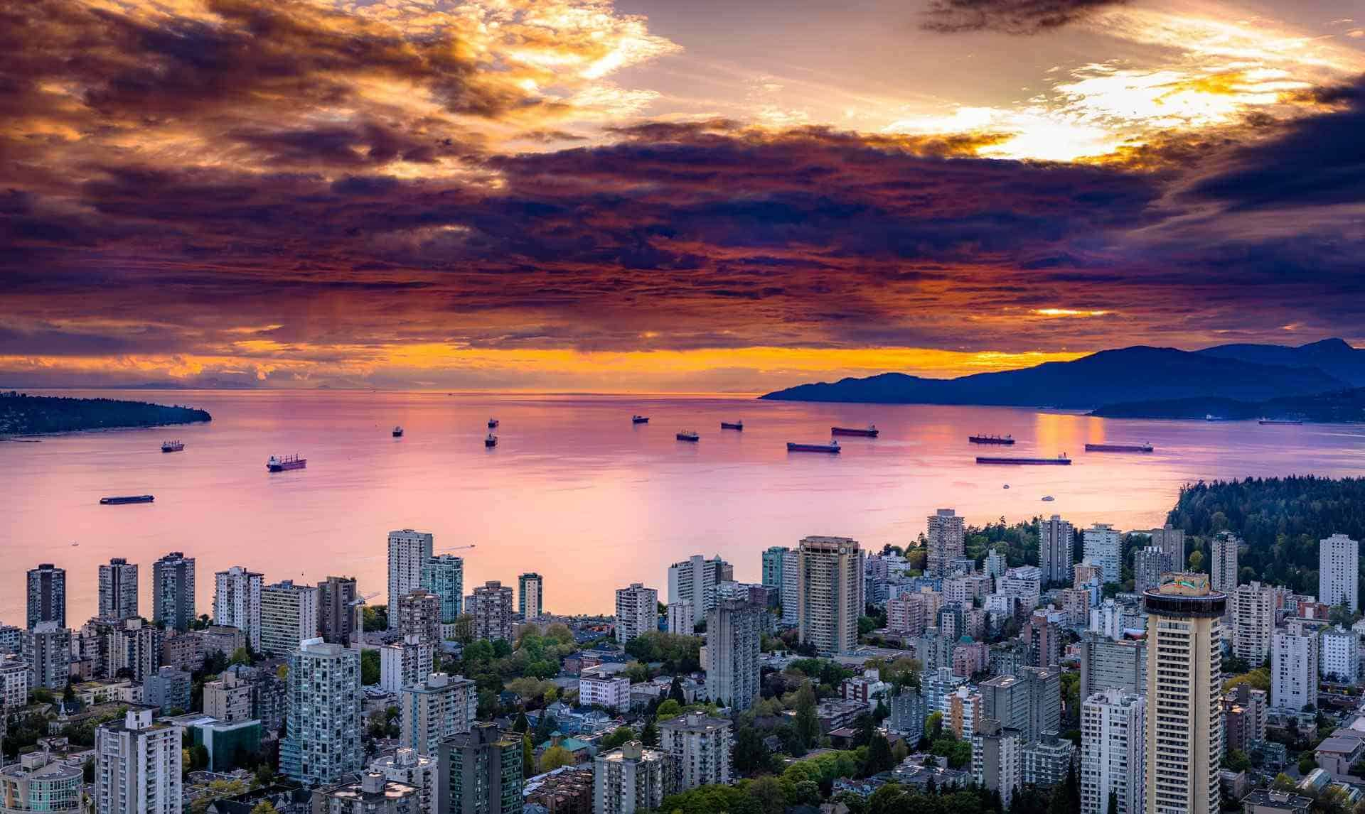 English Bay, Vancouver, Canada