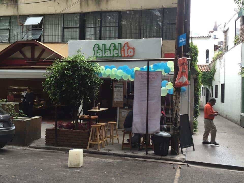 Falafelito - Vegetarian restaurants in Mexico City