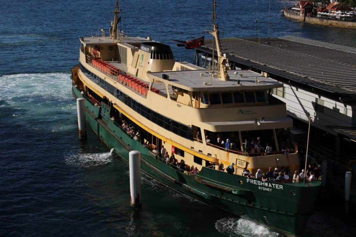 Ferry at Sydney Harbour, Sydney, Australia