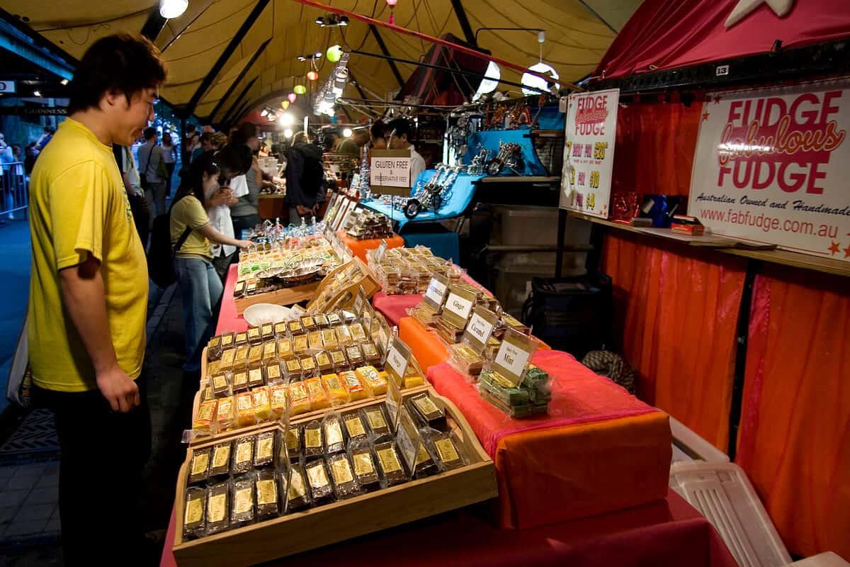 Flea Market in Sydney, Australia