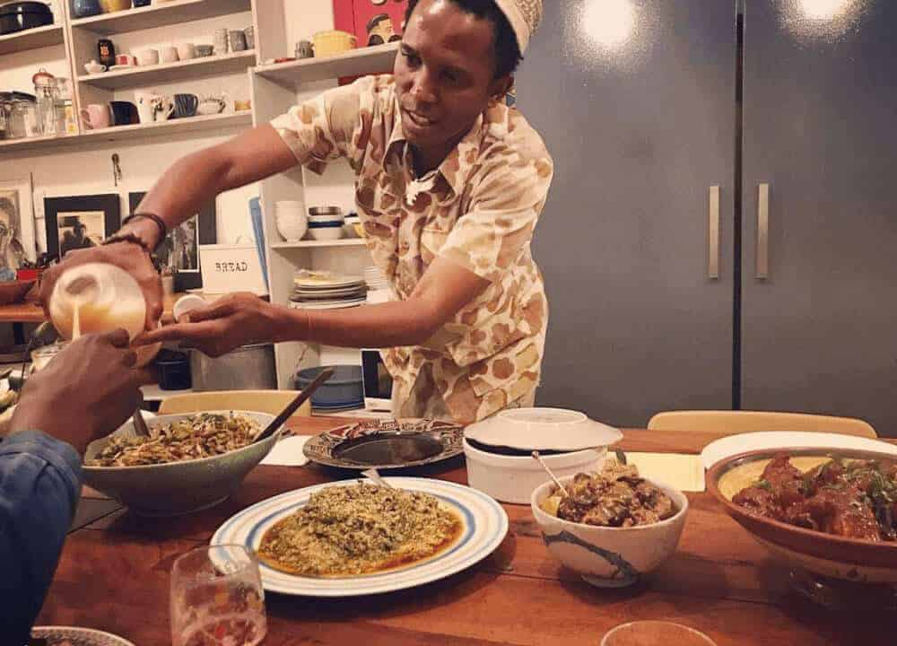 Food curator in Yeoville in Johannesburg