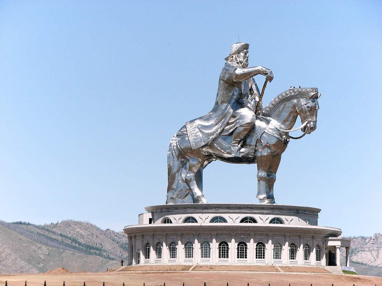 Genghis Khan Memorial, Tsojin Boldog, Mongolia