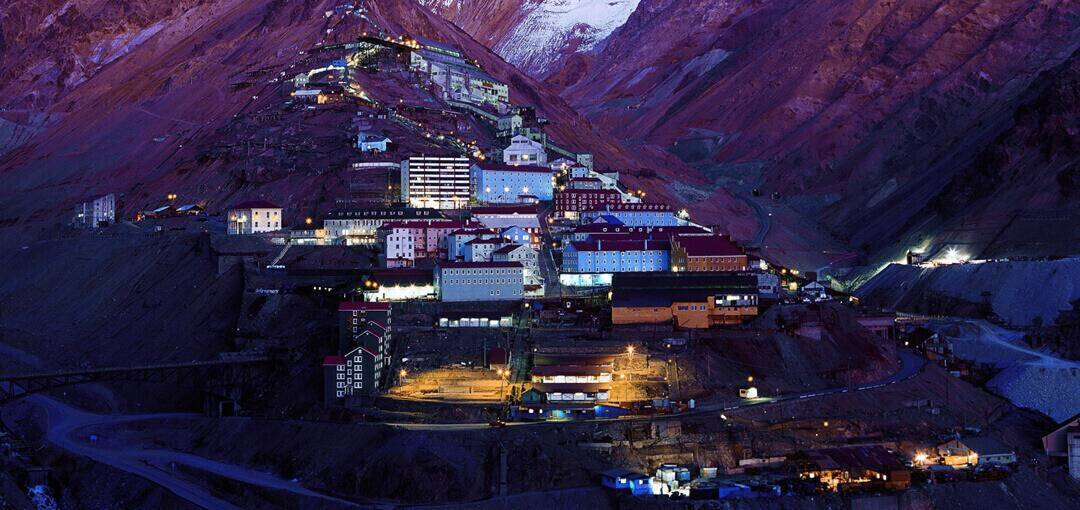 Ghost town Sewell- Unesco-declared copper mine town in Chile