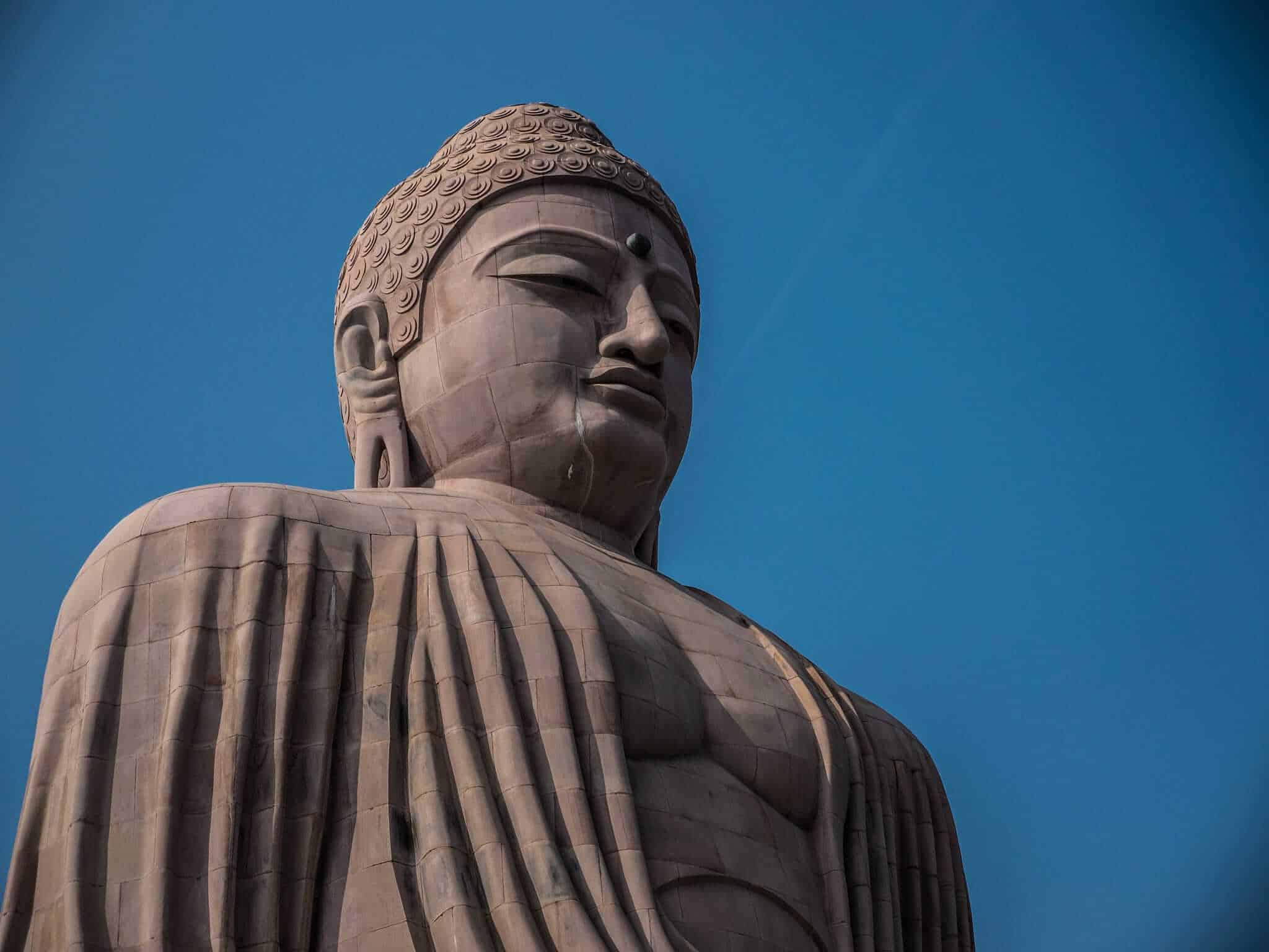 Great Buddha Statue at Bodh Gaya, Bihar, India
