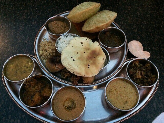 Gujarati Thali - cuisines in India