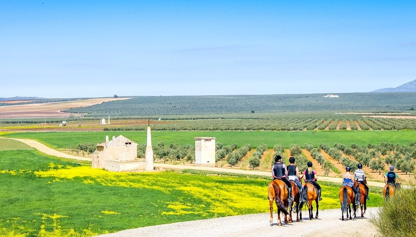 Hacienda-Horse-Riding-Holidays-Spain-mountains