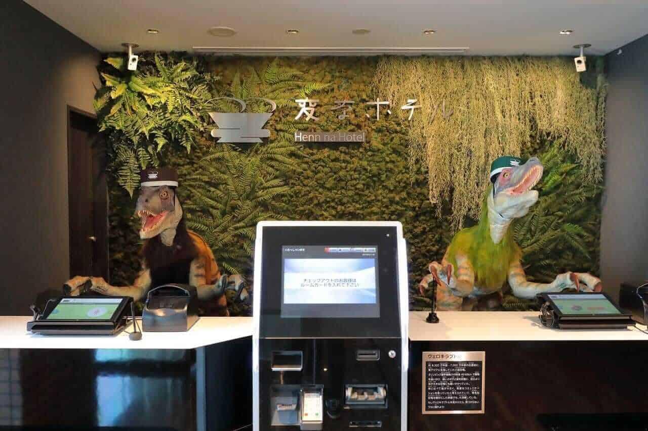 Henn Na Hotel, Japan