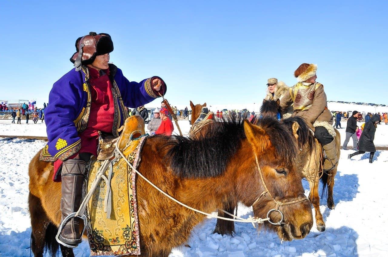 Horseback Riding in Mongolia
