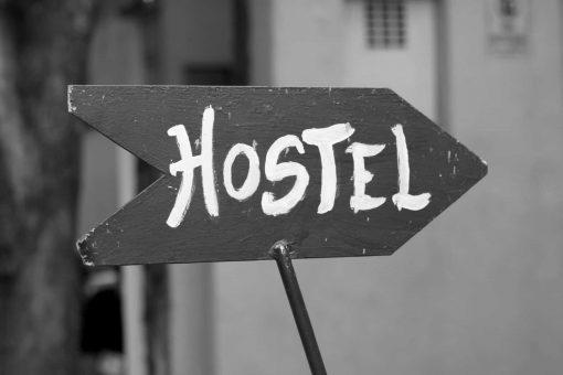 Hostel -signboard
