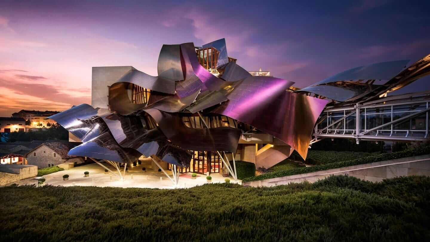 Hotel Marqués de Riscal Luxury, Spain