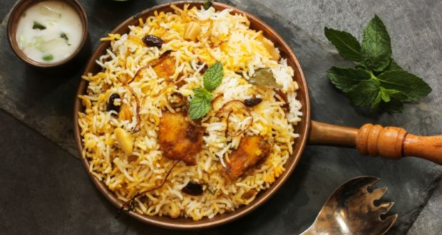 Hyderabadi Biriyani - Cuisines from South India