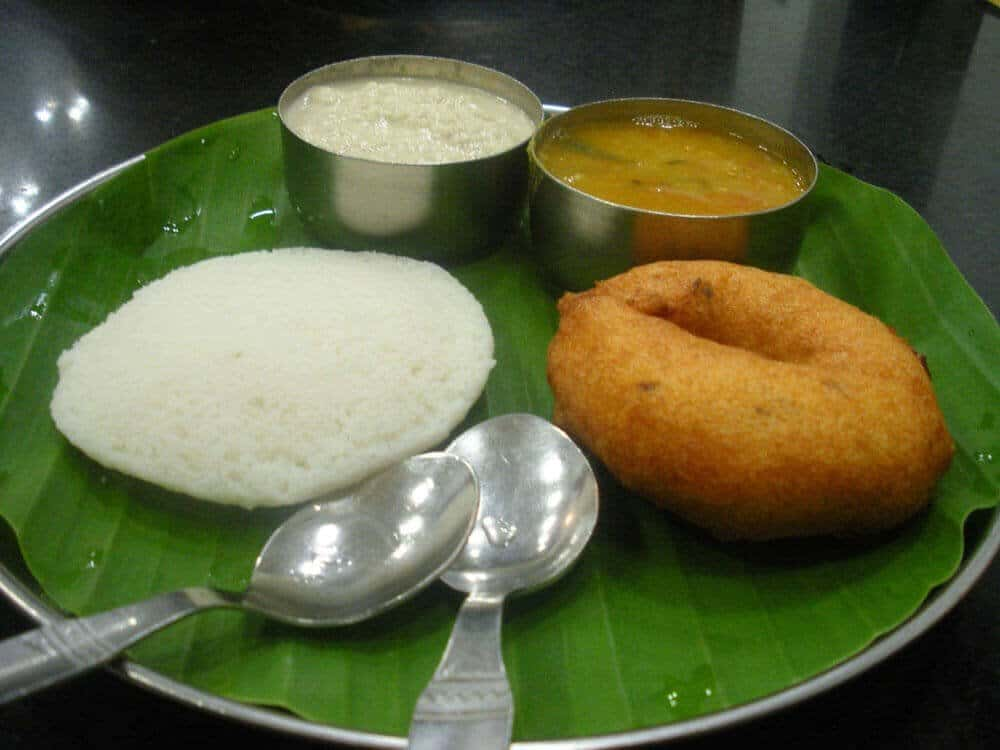 Idli and Medu Vada