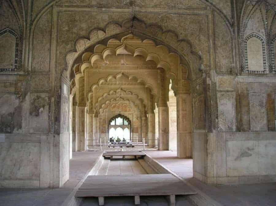 Inside the Red Fort - Delhi