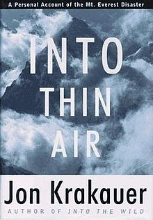 Into Thin Airby Jon Krakauer
