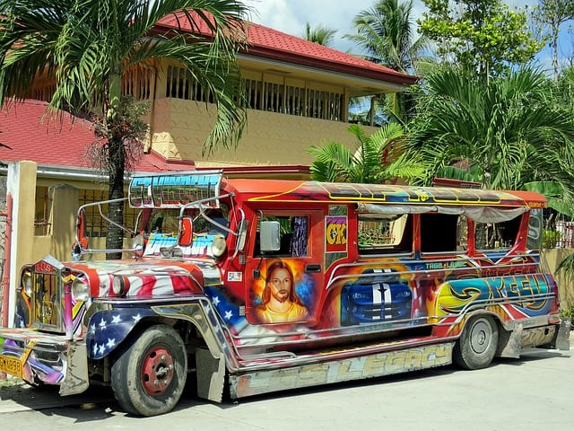 Jeepney in Phillippines