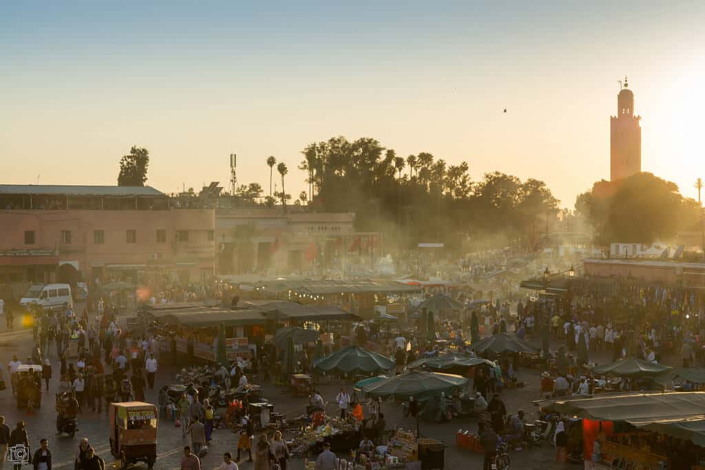 Jemaa el-Fnaa during the day