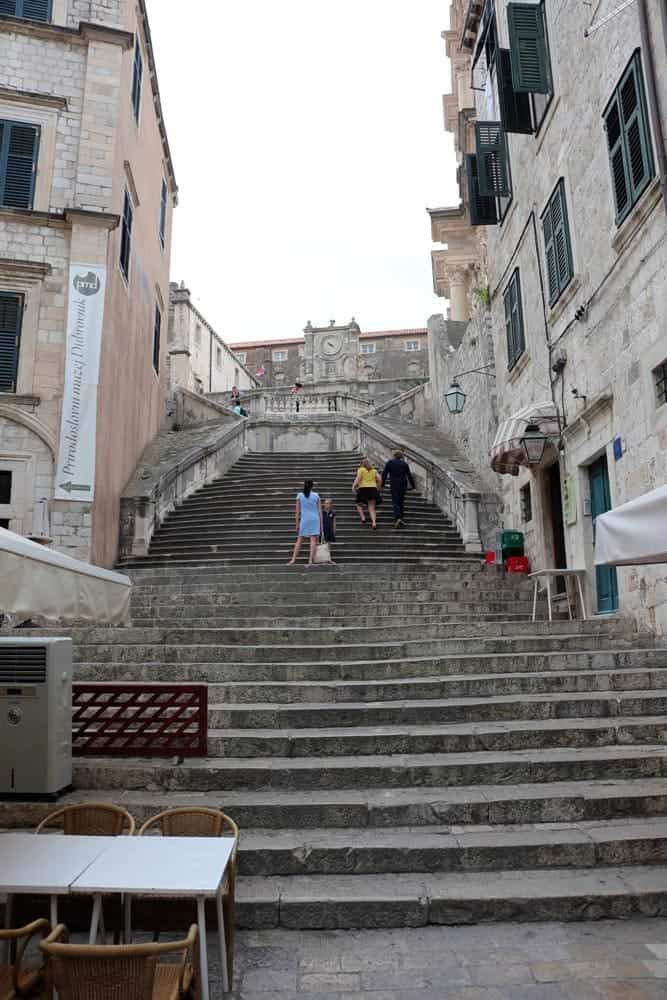 Game of Thrones Locations - Jesuit Staircase, Dubrovnik