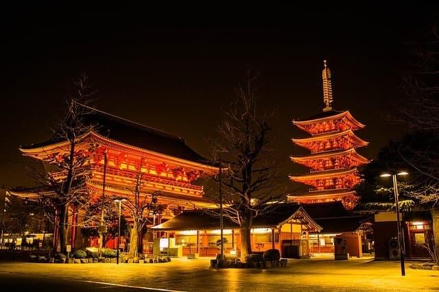 Kaneji Temple in Tokyo
